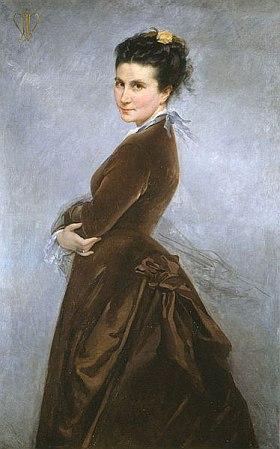 Nélie Jacquemart-André: Autoportrait, 1880