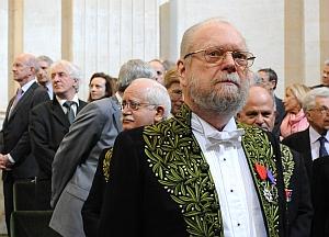 Jean Baechler, séance sous la Coupole de l'Institut de France, 3 mars 2011