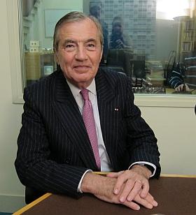 Bertrand Collomb, ancien PDG du Groupe Lafarge et membre de l'Académie des sciences morales et politiques, Canal Académie 2013