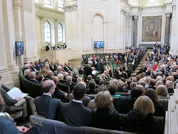 Réception de Jules Hoffmann de l'Académie française, 30 mai 2013