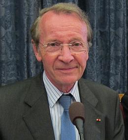 Michel Pébereau, membre de l'Académie des sciences morales et politiques, 24 juin 2013
